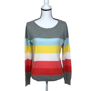 NWOT! Liz Claiborne striped sweater